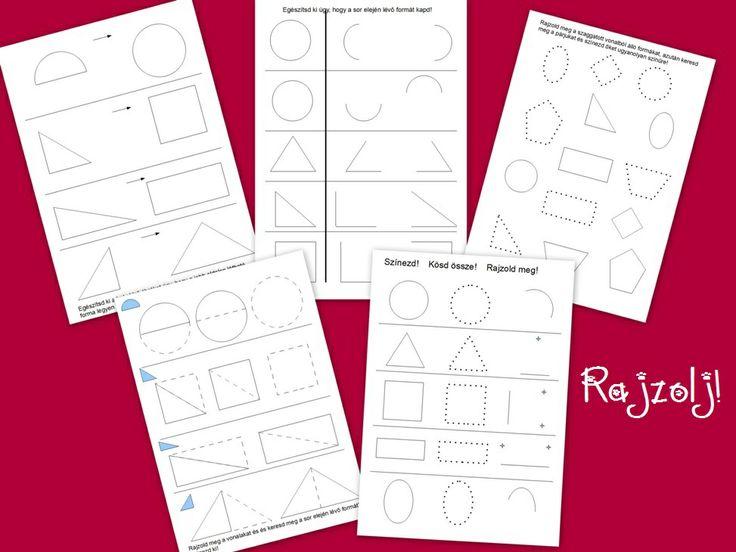 Rajzold meg a formákat! http://jatsszunk-egyutt.hu/autos-jatekcsomag/