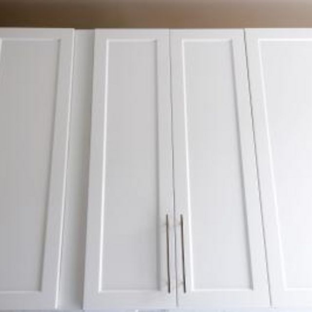 1000 ideas about laminate cabinet makeover on pinterest for Can you paint veneer kitchen cabinets