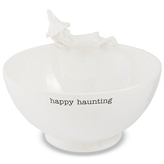 Mud Pie Halloween Collection Witch Serving Bowl