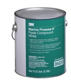 3M™ 06039 Finesse-It™ Marin Pasta - Beyaz. 3M™ Finesse-it Marin Pasta özellikle jelkot kaplı fi berglas yüzeylere sert bir şekilde uygulanmak için özel olarak tasarlanmıştır.