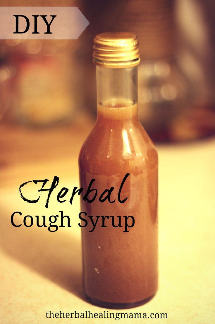 Herbal Cough & Cold Syrup – Immune Boosting – DIY | The Herbal Healing Mama