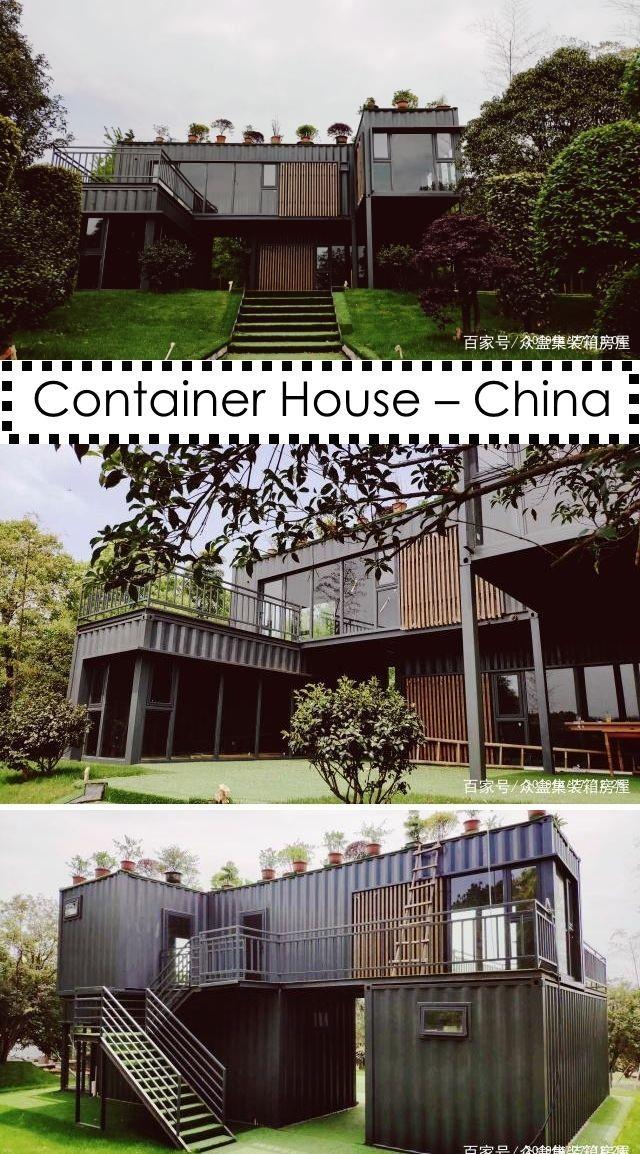 Container House China In 2020 Container House Container House Design Shipping Container Home Designs