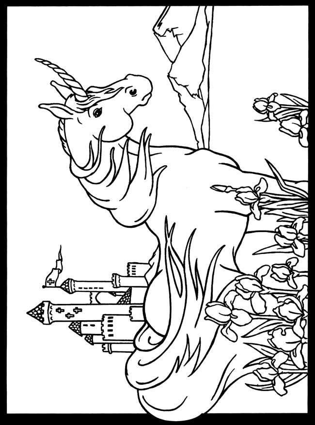 Coloring Pages Unicorn Head : 40 best unicorn coloring images on pinterest
