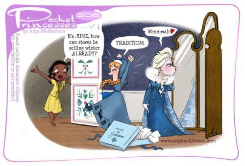 Pocket Princesses 208: Winter Sale Please reblog, don't repost, edit or remove captions