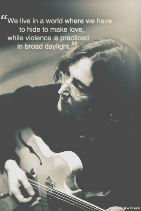 john lennon's wisdom speaks yet again