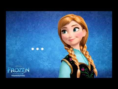 Frozen.- ¿Y si hacemos un muñeco? (Letra) Versión de la película para Latinoamérica. - YouTube