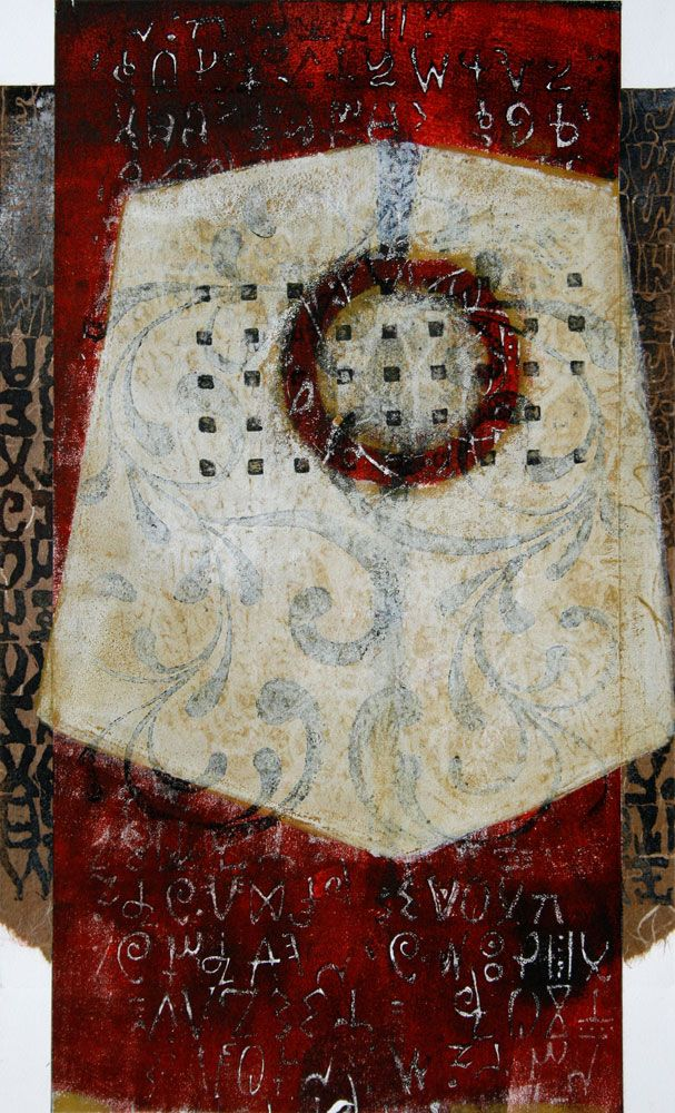 Herald And Hallmark By Anne Moore Monotype My Own Work
