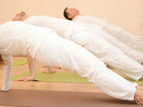 jóga gyakorló