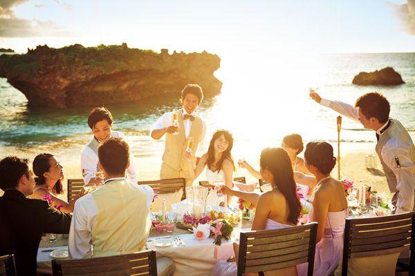 『コーラルヴィータ・チャペル』 ビーチサイドで♡ *沖縄 披露宴 会場一覧*