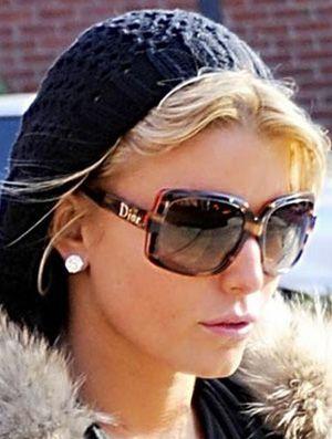 Jessica Simpson in Dior sunglasses~
