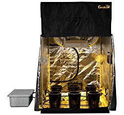 Grow Room 5x5 SuperCloset SuperRoom Hydroponic System Grow Tent Package