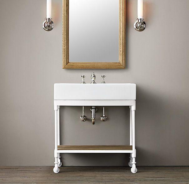 Dutch Industrial Console Bathroom Bliss Pinterest