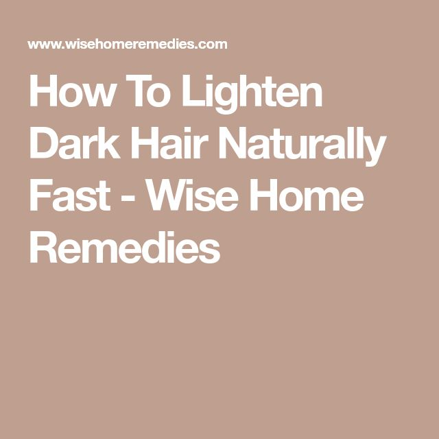 Best Way To Lighten Brown Skin Naturally