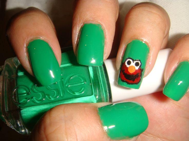 9 mejores imágenes de elmo en Pinterest   Elmo, Diseños para uñas y ...