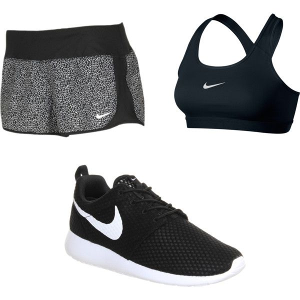 tenue de sport by louise-gourci on Polyvore featuring mode and NIKE