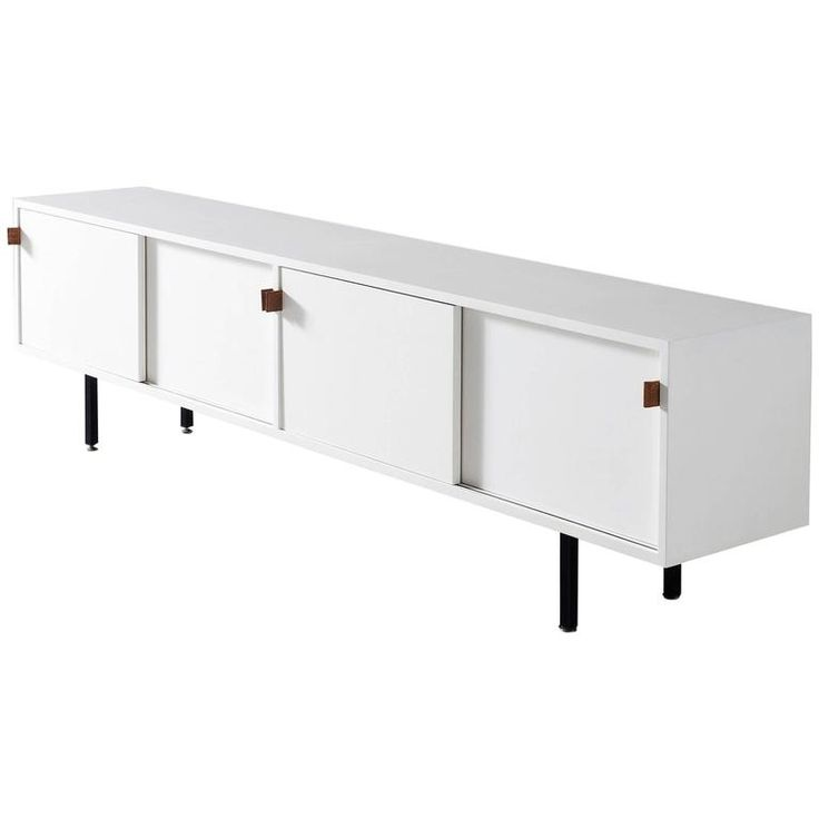 Florence Knoll Rare White Sideboard For Knoll International