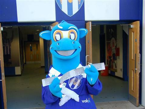 Bert's Big Ticket  give away at Colchester United FC