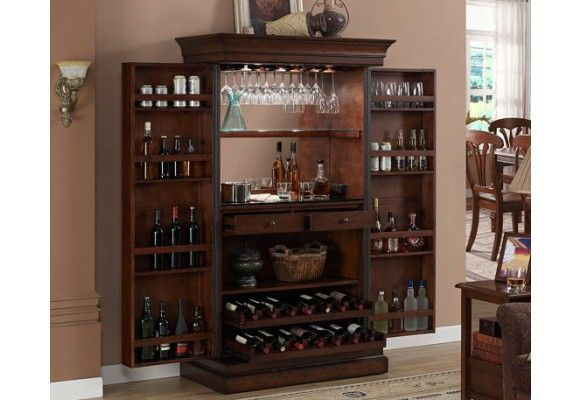 find old armoire add small frig in bottom storage and walla kitchenette for guest room. Black Bedroom Furniture Sets. Home Design Ideas