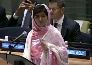 The Eloquent Woman: Famous Speech Friday: Malala Yousafzai's UN speech on youth education