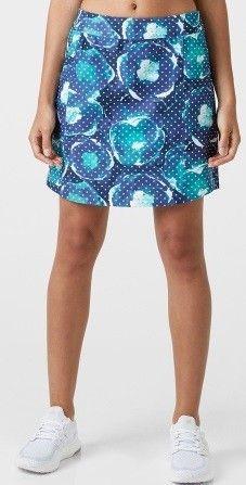 Falda de golf Adidas Adistar Printed Skort para mujeres. Falda Adidas estampada, fabricada con Polyester 90% y 10% Elastano