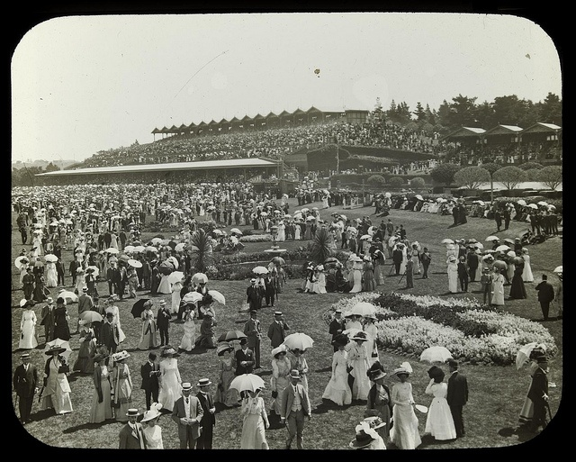 Flemington Race Day Victoria c. 1920 (Property of State Library Victoria)
