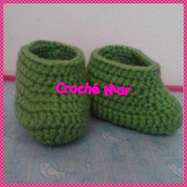 Botitas verdes por Croche Mar