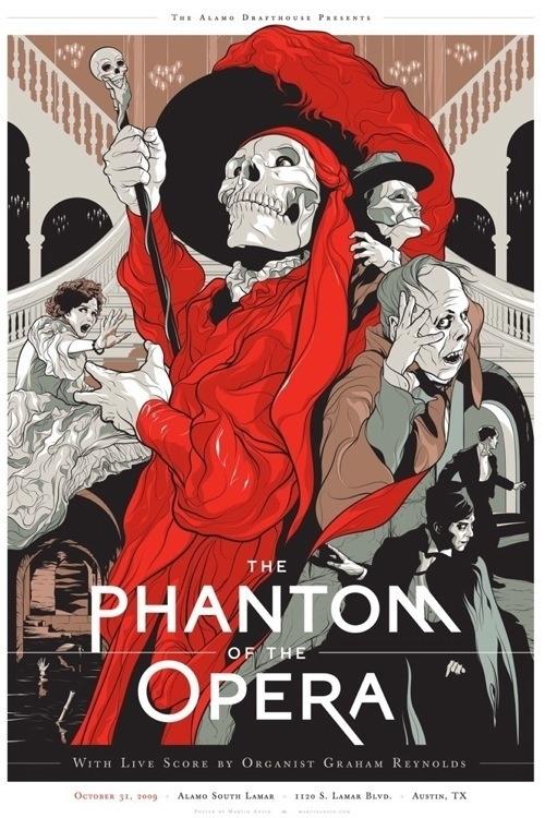 Wonderful illustration of the many aspects of the Phantom.
