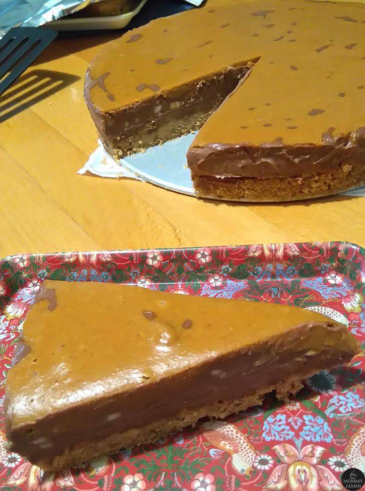 Απίθανη τάρτα με μπισκότο, σοκολάτα και φυστικοβούτυρο