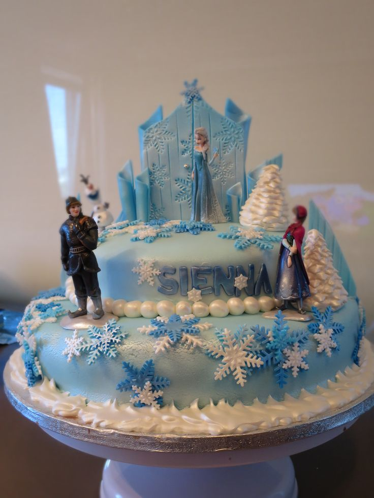 images about Cake - Frozen theme on Pinterest  Frozen birthday cake ...