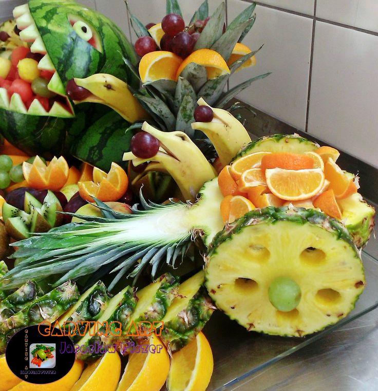 Wozy znajdują się na moich paterach owocowych.
