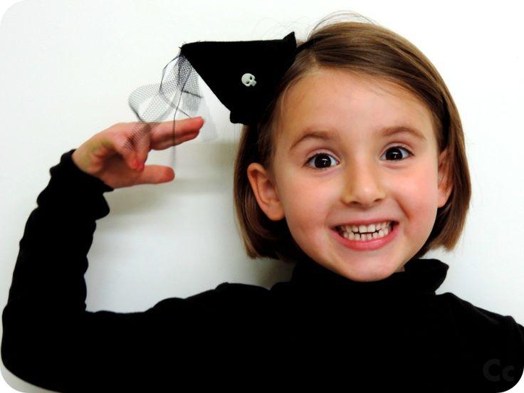 tuto DIY chapeau de sorcière Halloween
