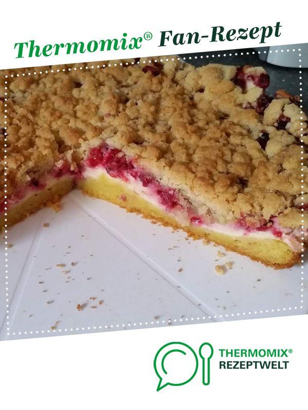 Johannisbeer Quark Streuselkuchen | Rezept | Kuchen ...