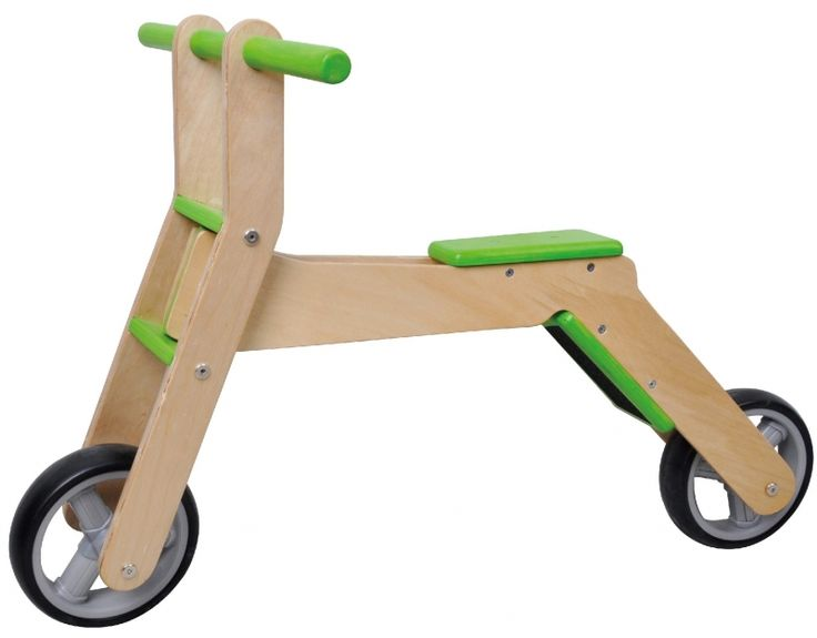 Mamamemo loopfiets en step (2 in 1)
