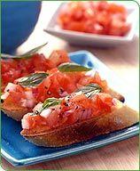 Weight Watchers Tomato Bruschetta
