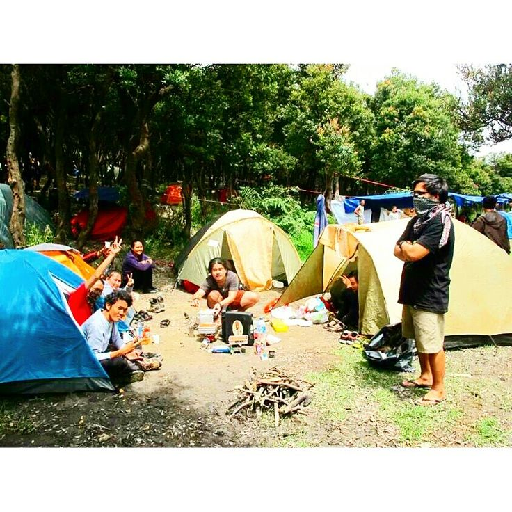 Our Camp at Mt. Papandayan, Garut, West Java