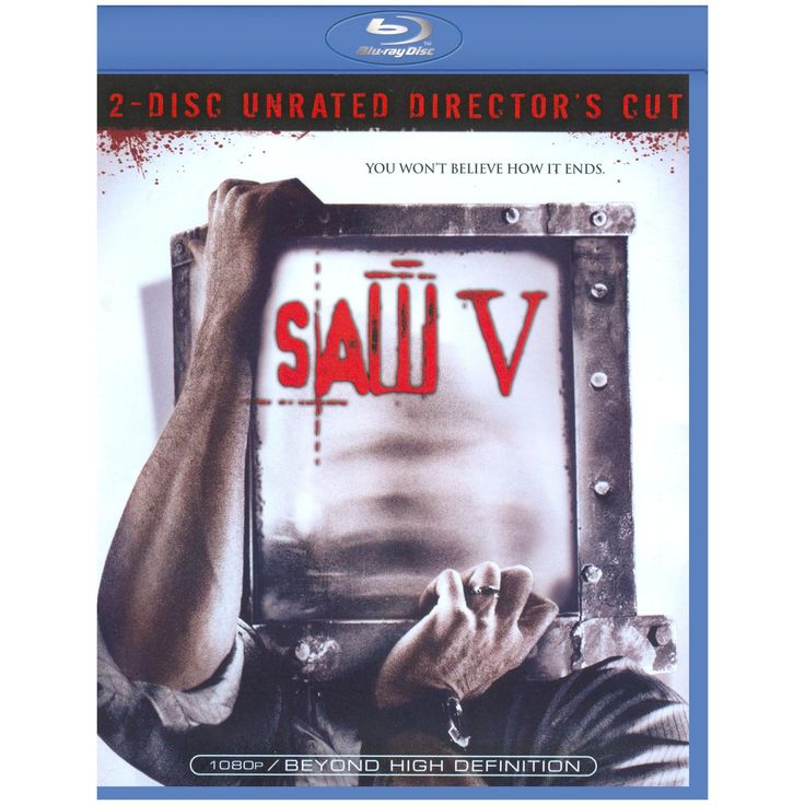 Saw V (Unrated) (Director's Cut) (2 Discs) (Blu-ray)