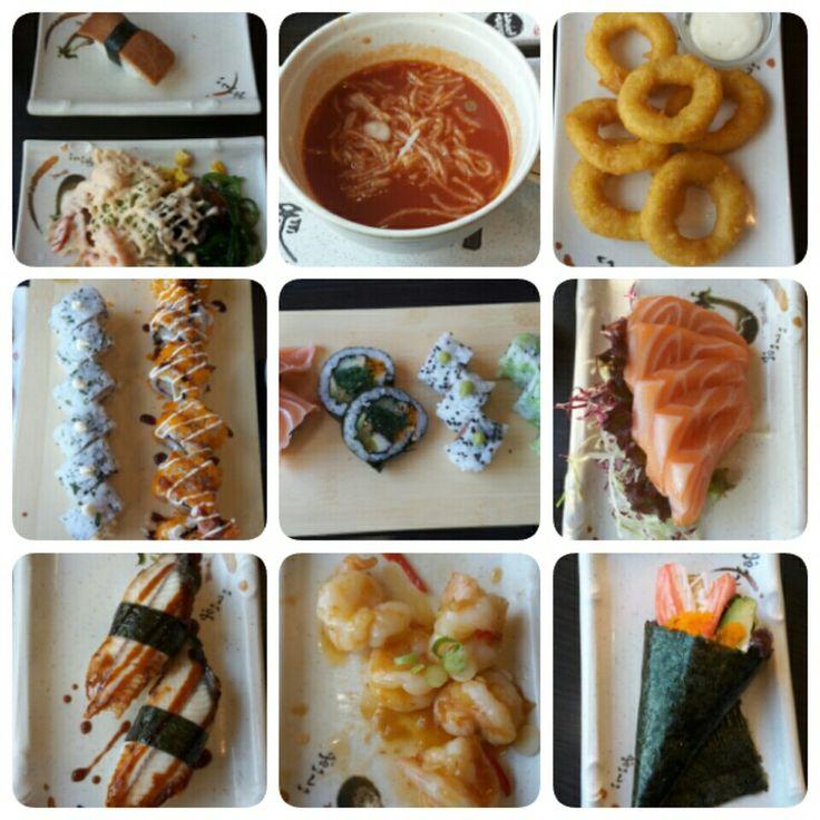 sushi bij Xin & Hao in Steenbergen ( 27-03 2017)