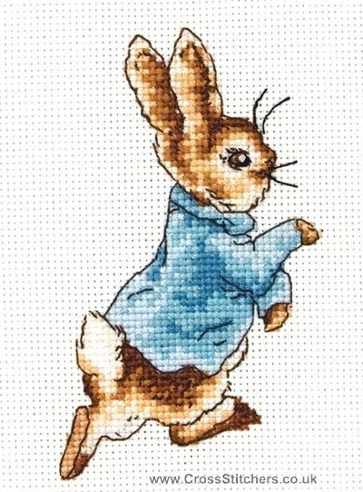 Peter Rabbit Knitting Pattern Download : Ideas about counted cross stitch patterns on