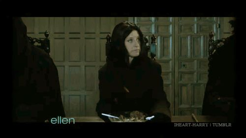 She stands up for what's right (Ellen vs. Voldemort). | Community Post: 17 Reasons Ellen DeGeneres Would Be The Best Friend Ever