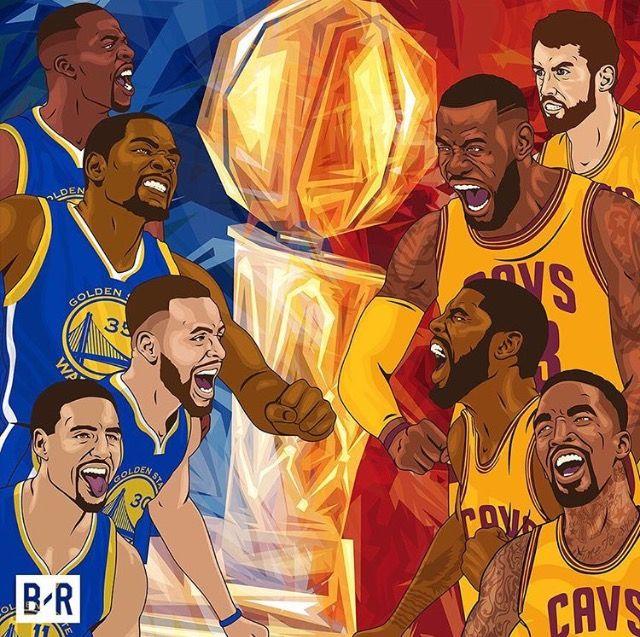 Golden State Warriors Vs Cleveland Cavaliers Face Off In The 2017 Nba Finals For The 3rd Consecutive Year Basquetball Fotos De Baloncesto Jugadores De La Nba