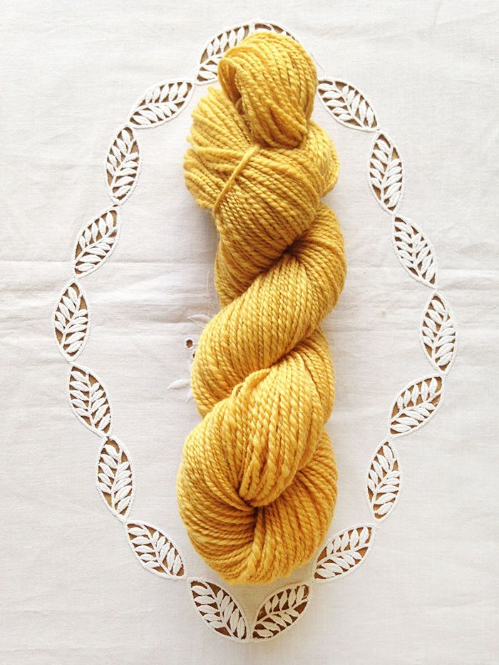 Buttercup Handspun Shetland Wool Yarn – Artyfibres