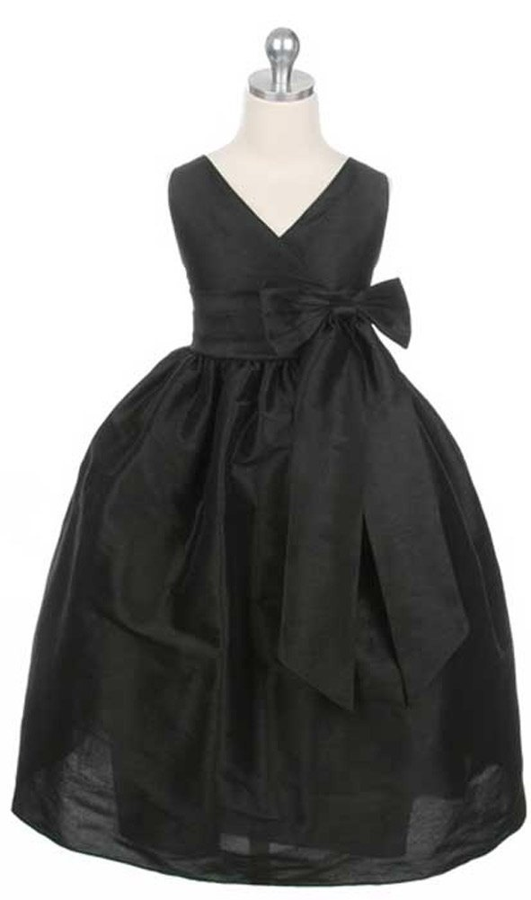 girls dresses for special occasions | ... Generous Bow and Full Skirt... Flower Girl, Special Occasion Dress