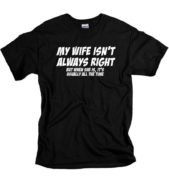 Gifts for Him Funny gift for husband My Wife Is by UnicornTees