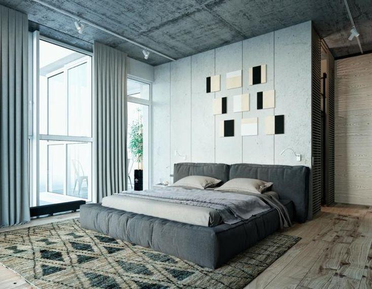 #Zimmer Grau Im Schlafzimmer   Entdecken Sie Die Trendy Grey Shades #Grau  #im