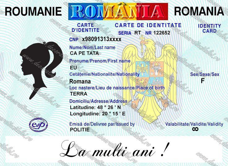 Imagine comestibila carte de identitate   https://decoratiunidulci.ro/imagini-comestibile-documente
