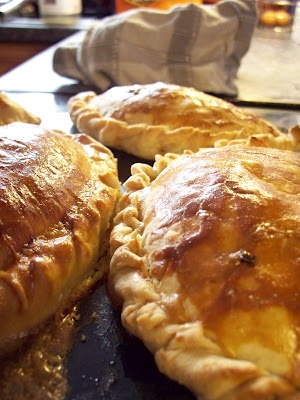 'cornish pasties (How i love thee)' quoted by previous pinner • originally eaten by the Cornish settlers in South Australia, now a South Australian icon • Adelaide's best • Adelaide's icons