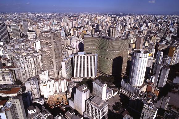 São Paulo - Brasil. Vista aérea.