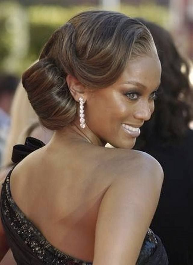 Vintage Updos Wedding Hairstyles For Black Women
