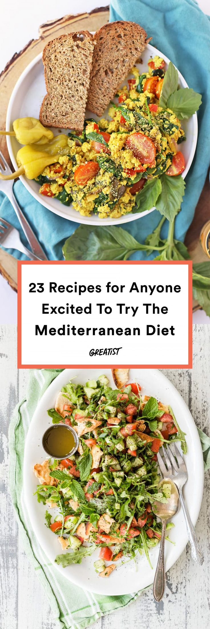 Start With These 23 Recipes If You're Going on the Mediterranean Diet