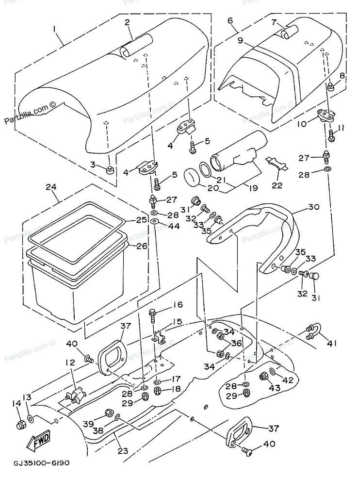 Wiring Diagram Yamaha Venture : Yamaha wave venture waverunner parts